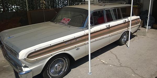1965 Ford Falcon Squire Wagon for sale