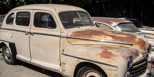 1948 Ford Super Deluxe 4-Door Sedan for sale